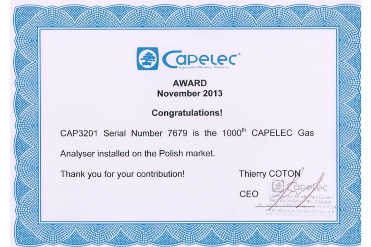 CAP3201 series | Success story in Poland